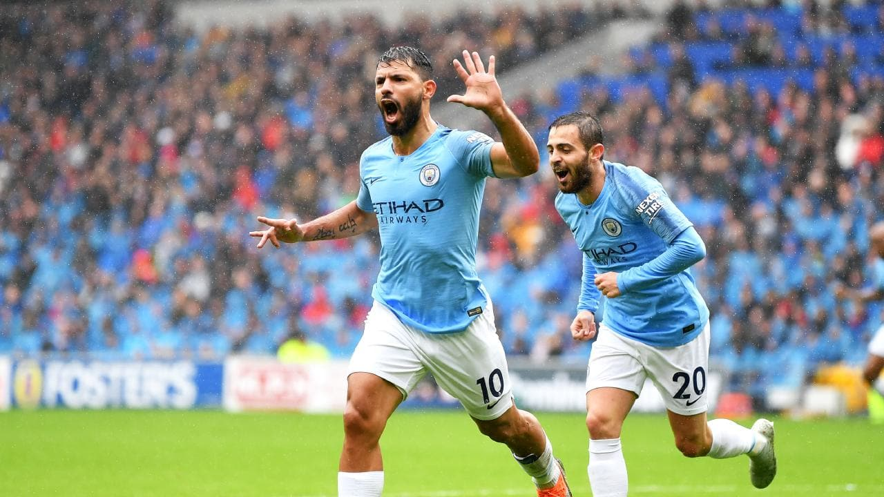 Premier League Manchester City vs Brighton