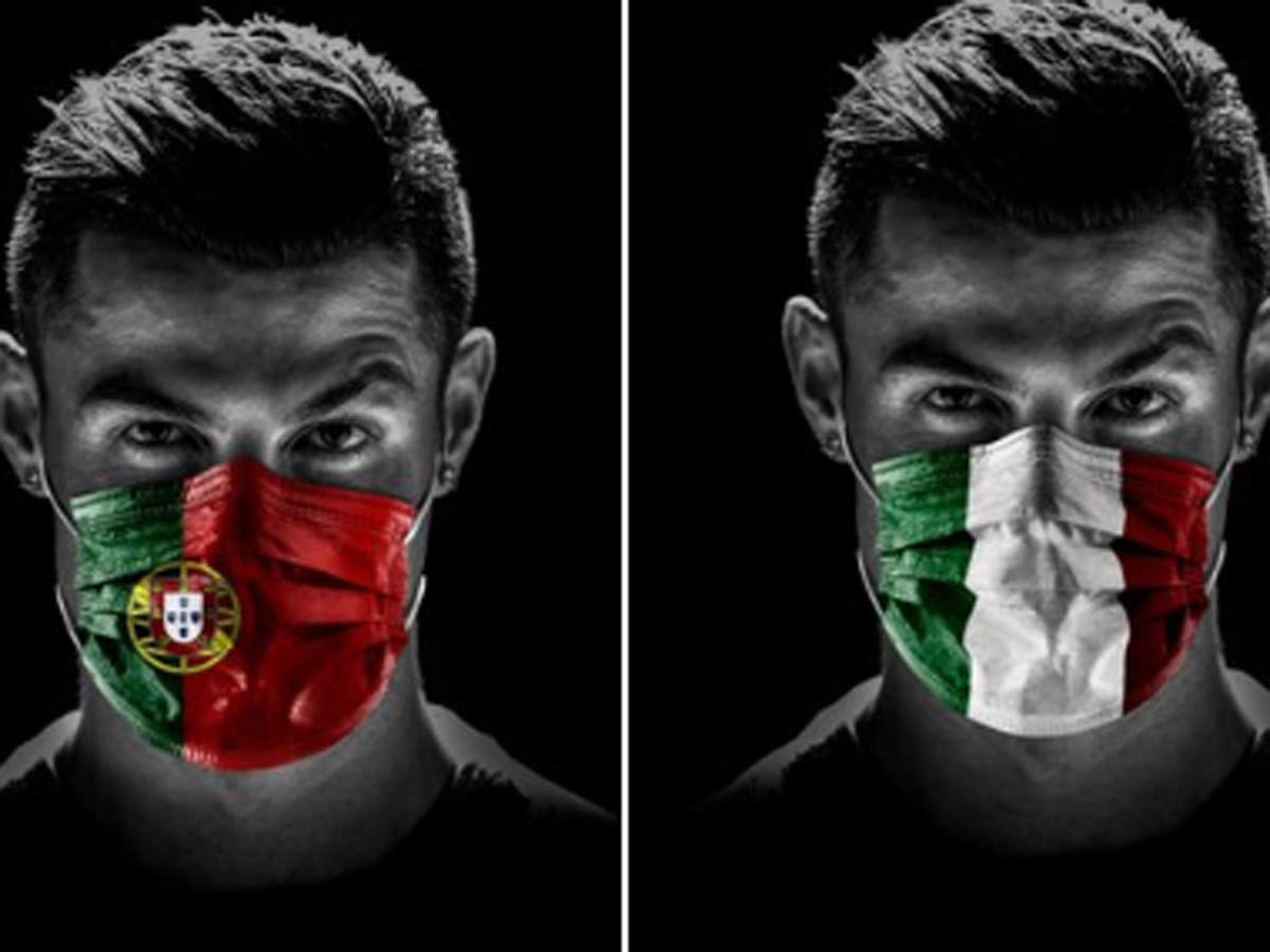 Ronaldo with face masks urged: In these difficult moments, let us help one another